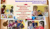 Формирование основ финансовой грамотности у детей младшего дошкольного возраста
